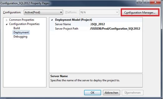 SSIS 2012 Configuration Guide – Part 1: Introduction – Data
