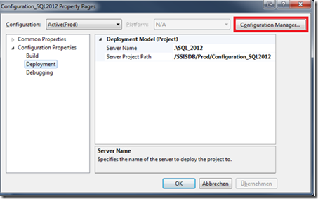 SSIS 2012 Configuration Guide – Part 1: Introduction (1/6)