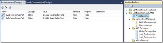 SSIS 2012 Configuration Guide – Part 2: Scenarios, Setup and Migration (2/6)