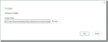 Data Science Labs – Analyze Twitter data with Excel and Power Query (3/6)