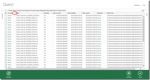 Data Science Labs – Analyze Twitter data with Excel and Power Query (5/6)