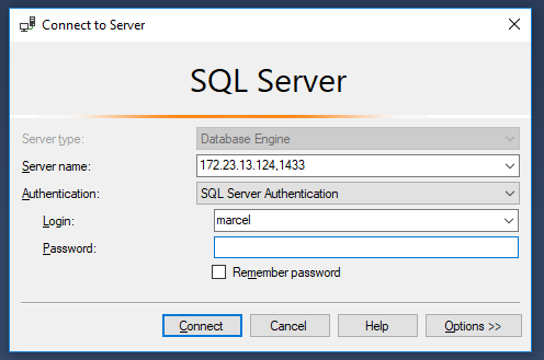Step by step guide to run SQL Server in a Windows Docker